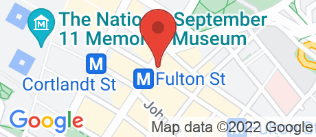 Branch Location Map - Chase Bank, Broadway And Fulton Branch, 214 Broadway, New York NY
