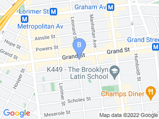 Map of Your Spoiled Pets Dog Boarding options in Brooklyn | Boarding