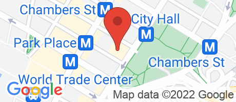 Branch Location Map - Citibank, City Hall Branch, 250 Broadway, New York NY