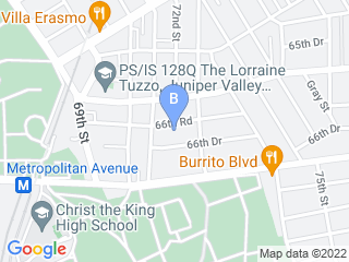 Map of In Home Pet Services of Forest Hills Dog Boarding options in Middle Village | Boarding