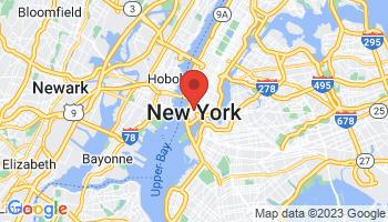 Map of Tribeca