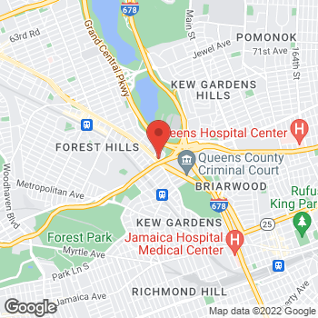 Map of Forest Hills Financial Group at 118-35 Queens Blvd, Forest Hills, NY 11375