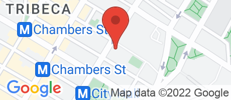 Branch Location Map - Justice Federal Credit Union, New York Branch #9, 290 Broadway Fl 10, New York NY