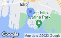 Map of East Islip, NY