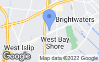 Map of Bay Shore, NY