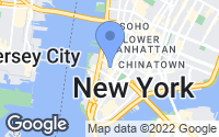 Map of New York, NY