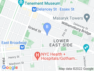 Map of Alitias Animals Dog Boarding options in New York | Boarding