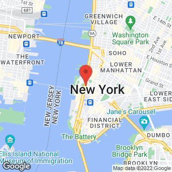 Map of Bed Bath & Beyond at 270 Greenwich St, New York, NY 10007