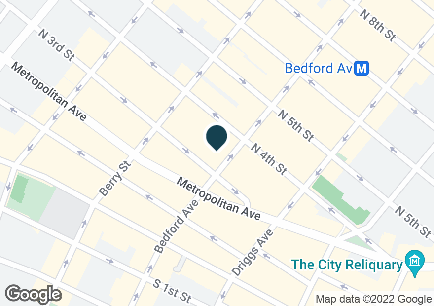 Google Map of250 BEDFORD AVE