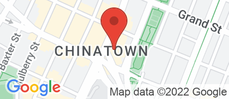 Branch Location Map - East West Bank, 77 Bowery Branch, 77 Bowery, New York NY