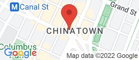 Branch Location Map - TD Bank, Chinatown Branch, 155 Canal Street, New York NY