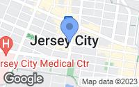 Map of Jersey City, NJ