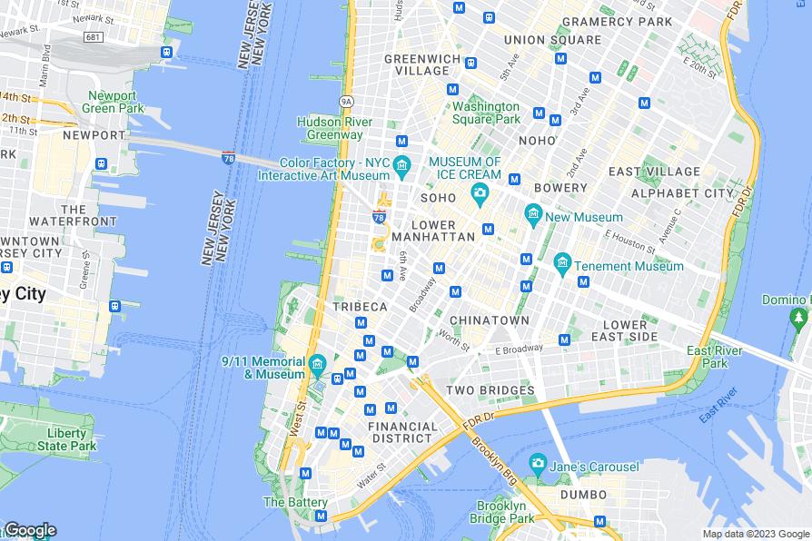 Hotels Near Tribeca