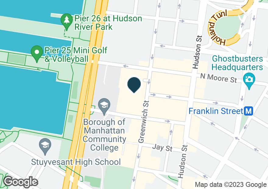 Google Map of352 GREENWICH ST