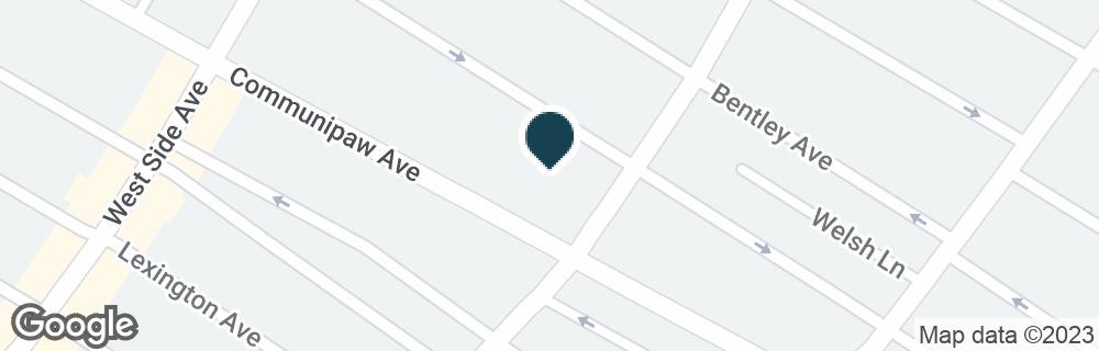 Google Map of2395 JOHN F KENNEDY BLVD
