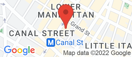 Branch Location Map - Valley National Bank, Broadway Branch, 450 Broadway, New York NY