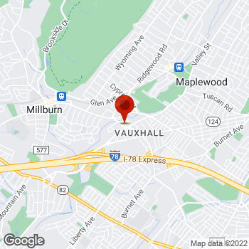 Map of Staples® Print & Marketing Services at 2933 Vauxhall Road, Vauxhall, NJ 07088