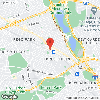 Map of Sprint at 7010 Austin St, Forest Hills, NY 11375