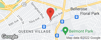 Map of 22209 Jamaica Ave in Queens Village