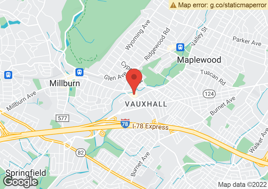 Google Map of 2933 VAUXHALL RD