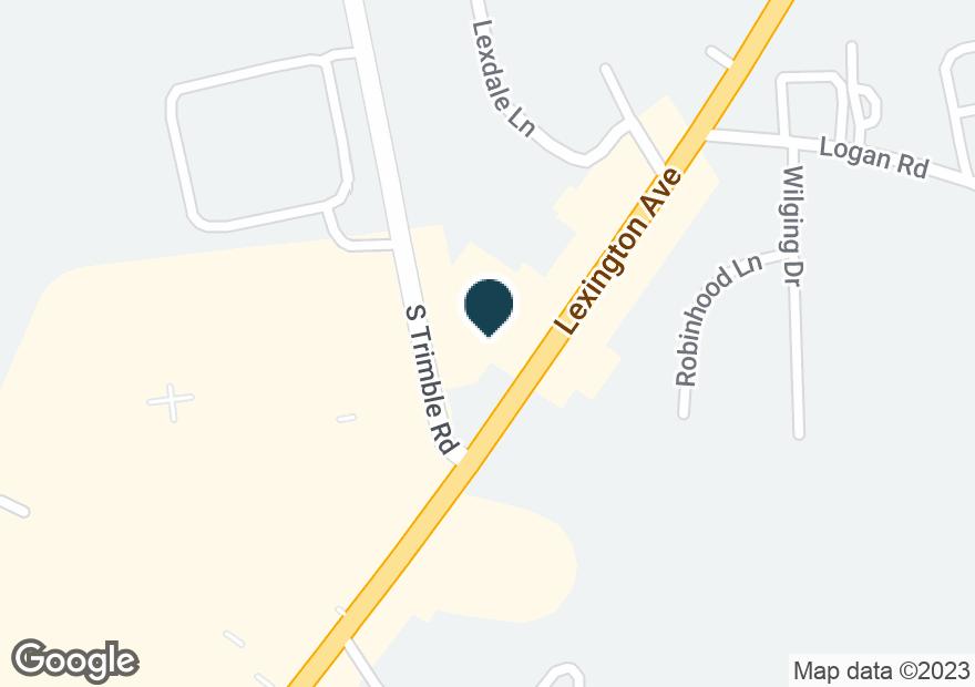 Google Map of1380 LEXINGTON AVE