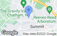 Map of Summit, NJ
