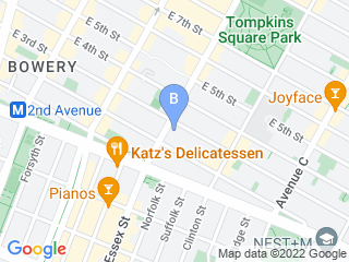 Map of Ruff Club Dog Boarding options in Manhattan | Boarding
