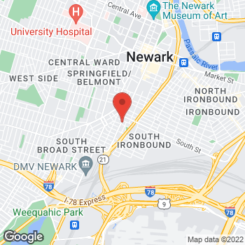 Map of Optimum WiFi Hotspot at 1118 Broad St, Newark, NJ 07114