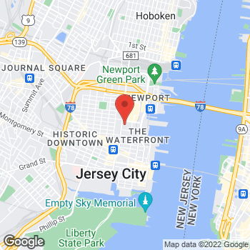 Map of Bed Bath & Beyond at 400 Luis Munoz Marin Boulevard, Jersey City, NJ 07302