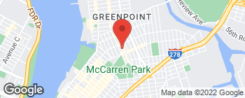 Map of 661 Manhattan Ave in Brooklyn