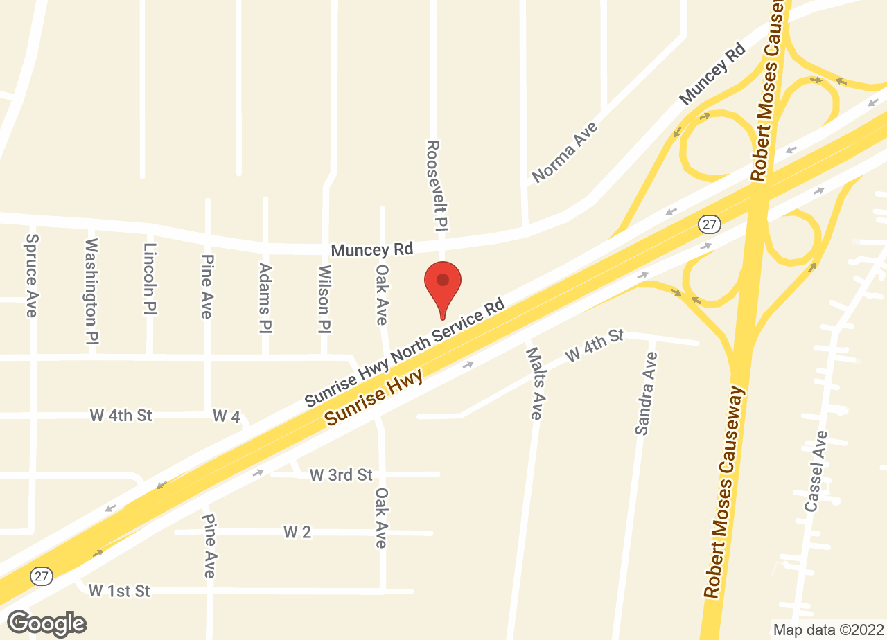 Google Map of Sunrise Veterinary Group