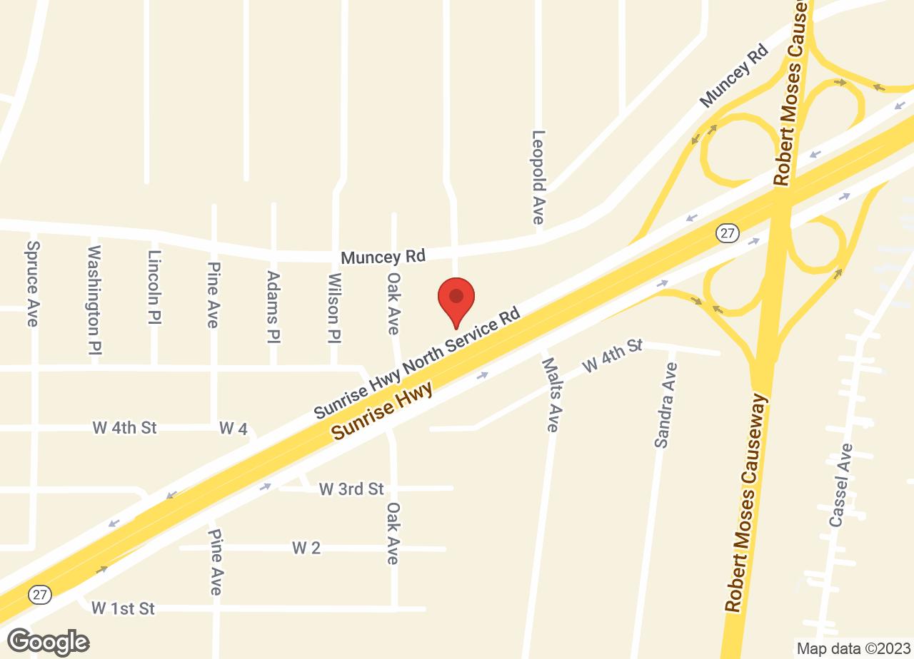 Google Map of Sunrise Veterinary Group