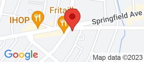Branch Location Map - Wells Fargo Bank, West Irvington Branch, 732 Nye Avenue, Irvington NJ