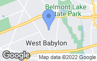 Map of West Babylon, NY
