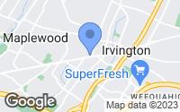 Map of Irvington, NJ