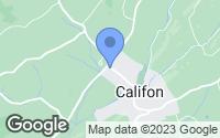 Map of Califon, NJ