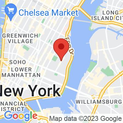 Map showing Ninth Street Espresso — 9th & C