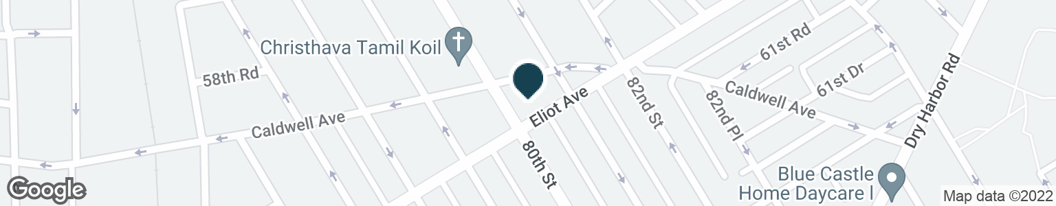 Google Map of8011 ELIOT AVE