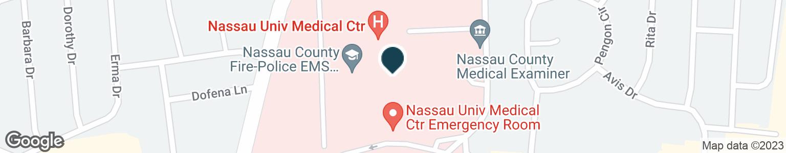 Google Map of2201 HEMPSTEAD TPKE
