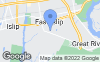 Map of East Islip, NY