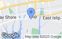 Map of Islip, NY