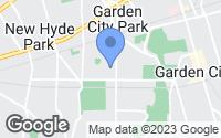 Map of Garden City, NY