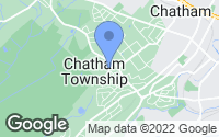 Map of Chatham Township, NJ