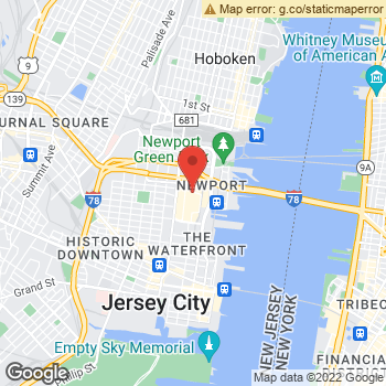 Map of Sears Optical at 50 Mall Dr W., Jersey City, NJ 07310