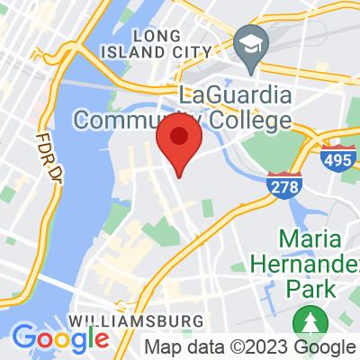 Map showing Café Grumpy — Greenpoint