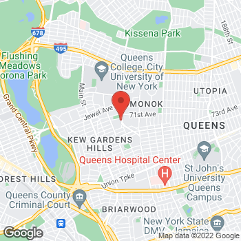 Map of Rite Aid at 71-18 Kissena Boulevard, Flushing, NY 11367