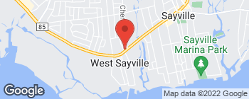 Map of 93 Main St in West Sayville