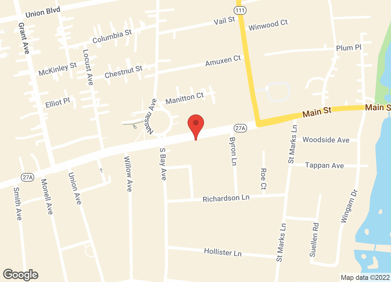 Google Map of East Islip Animal Hospital