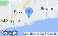 Map of Sayville, NY