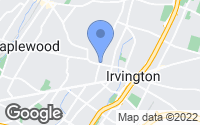 Map of Irvington, NJ